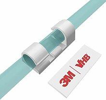 XIAOXI Kabel-Clips mit starkem, selbstklebendem