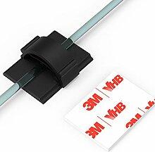 XIAOXI Kabel-Clips mit starken, selbstklebenden