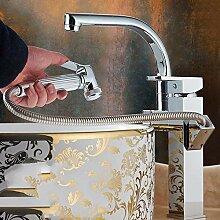Xiaoyubin Küchenarmatur Gold Messing