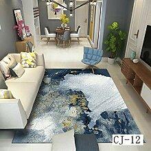 XIAOYUDT Teppich abstrakte Kunstmuster kein