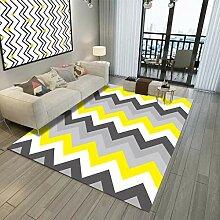 XIAOYUDT Teppich, Geometrisches Muster Kein