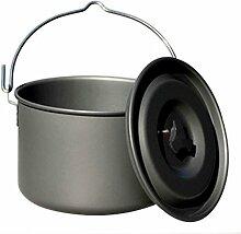 xiegons0 Camping Pot - Tragbare Camping Hängetopf