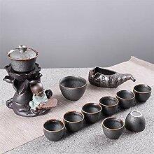 Xiequn Keramik-Tee-Set mit automatischem,