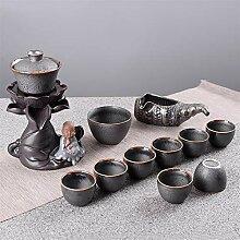 Xiequn Keramik-Tee-Set mit automatischer,