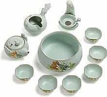 Xiequn Ru Kung Fu-Tee-Set für den Haushalt,