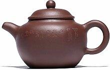 Xiequn Teekanne aus lila Ton für sechs Partys