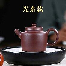 Xiequn Teekanne aus violettem Ton