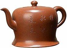 XIEQUN Teekanne Herbst (Farbe: Braun)