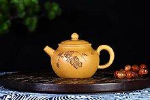 XIEQUN Teekanne mit Gold-Erz-Segment-Ton, Kung Fu
