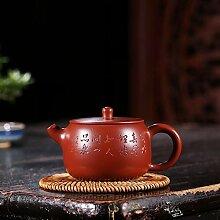 Xiequn Teekanne mit großem Mund aus Jade, für