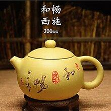 XIEQUN Teekanne mit Segmentschlamm, Schönheit,