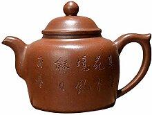 XIEQUN Teekanne Ponceau (Farbe: Braun)