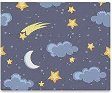 XiexHOME Wandfarbe für Küche Stern und Mond