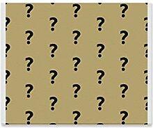XiexHOME Wohnzimmer Wandfarbe Fragezeichen