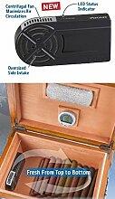 Xikar HumiFan Humidor Ventilator inkl. Lifestyle-Ambiente Tastingbogen