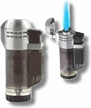 Xikar Tech Feuerzeug Double-Jetflamme schwarz