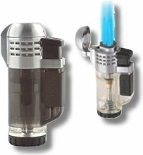 Xikar Tech Feuerzeug Triple-Jetflamme black