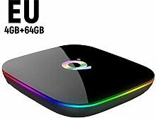 xiliary Streaming Media Player - Q Plus TV Box 4 +