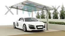 Ximax Design Carport Linea Typ 80, Aluminium, 5558x2726 mm