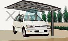 Ximax Design Carport Portoforte Typ 110, Aluminium, 4954x2704 mm