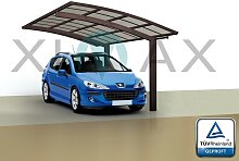 Ximax Design Carport Portoforte Typ 80, Aluminium, 5558x2405 mm