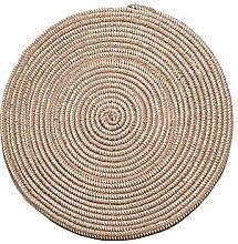 XIN-Carpet Geflochten Runde Teppich/Computer Stuhl