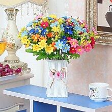 Xin Home Künstliche Blumen im Europäischen Stil Flower Bouquet Rose Set Modell Haus Dekoration Dekoration Wohnzimmer Esstisch Blume Home möbel