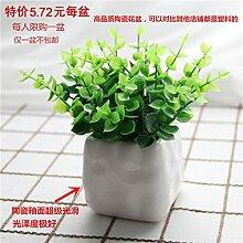 XIN HOME Simulation künstliche Blumen pastorale Home Kunststoff vergossen Fake blumen Hochzeit tischornamenten Wohnzimmer Dekoration frische kleine
