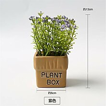 Xin Pang Grüne Pflanze Gefälschtes Gras