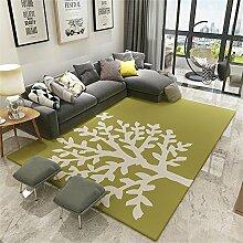 XIN SHOP- Nordic Sofa teppich mit hoher dichte rechteck teppich Kinder Decke rechteck Decke Teppich teppich wohnzimmer teppich Bedside decke Tee tisch teppich ( größe : 160*230cm )