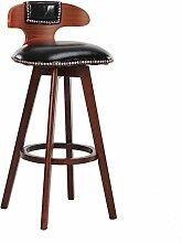 Xin-stool Creative Bar Hocker/Continental Bar Hocker/Rotary Retro Hocker/Simple High Hocker (stil : D)