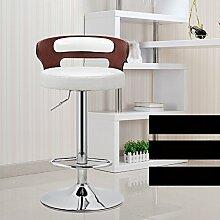 Xin-stool Europäische Stil Retro Bar Stühle/Rezeption Mode Bar Hocker/einfache High Stuhl, Lift Rotation (stil : A)