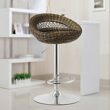 Xin-stool European Bar Hocker/Mode Stereo Bar Hocker/High Hocker/Einfache Lounge Chair/Rezeption Hocker (stil : C)