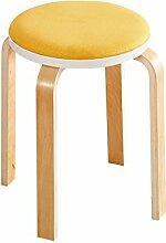 Xin-stool Home einfacher moderner Tischhocker/Wohnzimmer runter Hocker/Massivholz für Schuhhocker (stil : J)