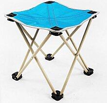 Xin-stool Klappstuhl/kleine Bank/im Freien kleiner Hocker/Fischenhocker, verwendbar für im Freien (größe : 28*28*28CM, stil : C)