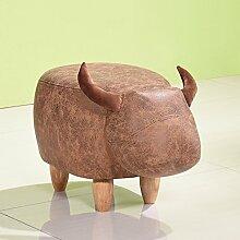 Xin-stool Kreativ für den Schuhhocker/Hocker/Haushocker/Fußhocker/Niedriger Hocker (stil : A)
