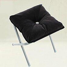 Xin-stool Portable Klappstuhl/Outdoor kleine Bank/Change Schuhe Hocker, faltbar, weich und komfortabel (Farbe : C)