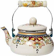 XIN Wasserkessel Porzellan Wasserkocher 2.4L Hause