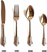XINCH-Geschirr Steakmesser Set 304 Edelstahl Luxus
