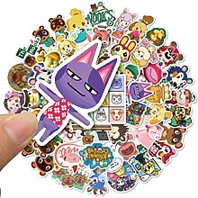 XINFAN Animal Crossing Aufkleber 50 Animal