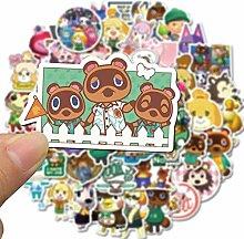 XINFAN Animal Crossing Aufkleber 50 Spiel Animal