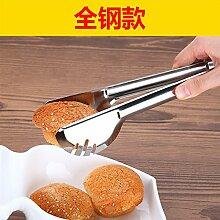 Xing Lin Barbecue Clip 304 Edelstahl Grill Küche Steak Essen Clip Clip Bäckerei Backen Kuchen Fried Anti Perm Jacke, Ganze Stahl