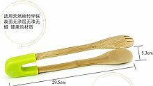 Xing Lin Barbecue Clip Bambus Essen Clips Haltbares Brot Clip Grill Grip Clip Clips