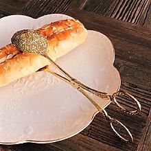 Xing Lin Küche Liefert Edelstahl Multifunktionalen Steak Clip Bäckerei Bäckerei Bäckerei Grill Clip Clip, Kaffee