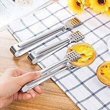 Xing Lin Küchenzange Zum Grillen, Kochen, Backen Edelstahl Grill Essen Clips, Clips, Clips Und Big Food Clips, Tuba