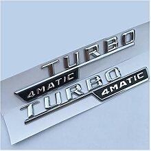XINGFUQY Auto Styling Aufkleber Fit für Mercedes