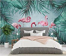 Xinghe wave Design Tapete 3D Tropical Flamingo