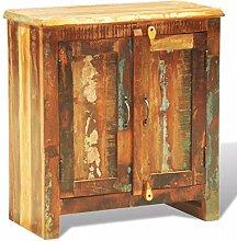 XINGLIEU Antik Holz Schrank mit Zwei Türen Antik