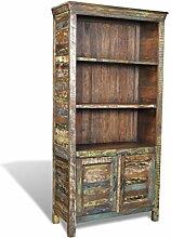 XINGLIEU wieder Holz Bücherregal Bücherregal