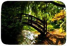 Xingruyun Gartenbrücke im Frühling